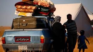 270.000 Menschen im Süden Syriens auf der Flucht