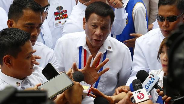 """Begeht Duterte """"Verbrechen gegen die Menschlichkeit?"""""""
