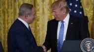 Trump ruft Israel zu Zurückhaltung bei Siedlungsbau auf
