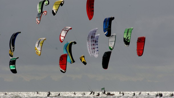 Wassersport / Kitesurfen: Colgate World Cup St. Peter Ording 2008,