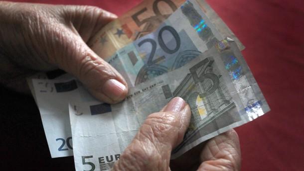 Rentenversicherung will mehr Steuergeld