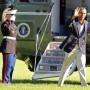 Der amerikanische Präsident Barack Obama (noch in Washington): Ein klares Signal an Russland