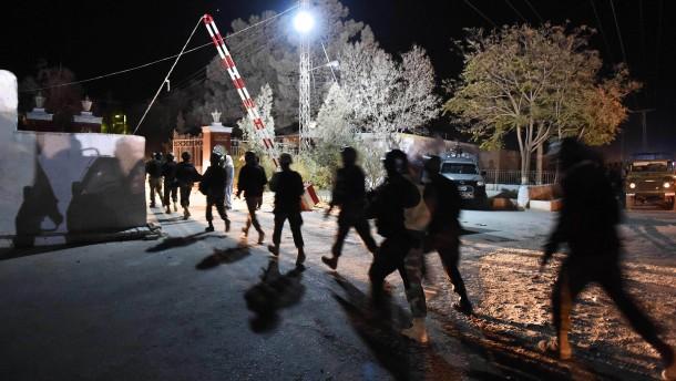 Mindestens 60 Tote bei Anschlag auf Polizeischule