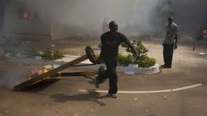Präsident Compaore will nicht zurücktreten