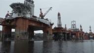 Greenpeace besetzt Bohrinsel
