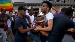 Kuba verbietet Marsch gegen Homophobie
