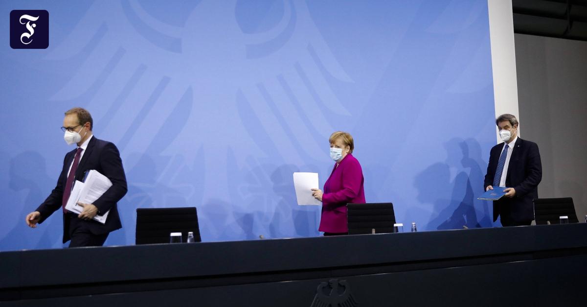 Lockdown wird verlängert – mit Öffnungsmöglichkeiten - FAZ - Frankfurter Allgemeine Zeitung