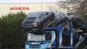 Honda will Werk in Großbritannien schließen