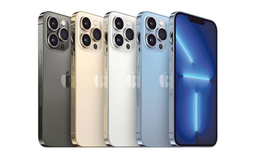 Dreifachoptik: Das große iPhone 13 Pro Max von Apple
