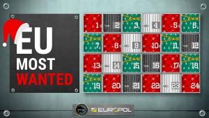 Europol sucht Schwerverbrecher per Adventskalender