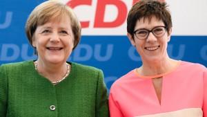 Merkel in Reserve