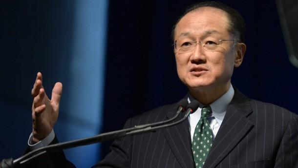 Jim Yong Kim als Weltbankpräsident wiedergewählt