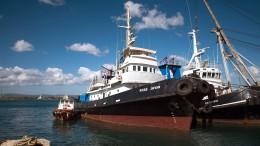 Italienisches Rettungsschiff von Polizei beschlagnahmt