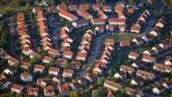Ein Neubaugebiet in Brandenburg