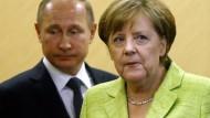 Putin und Merkel für Fortsetzung des OSZE-Einsatzes