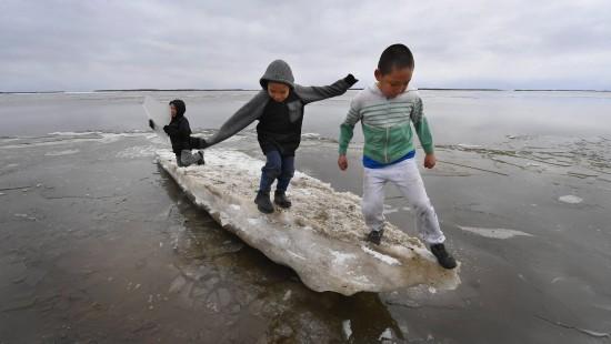 Alaskas Dörfer schmelzen weg