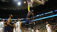 Lebron James im Spiel gegen die Boston Celtics