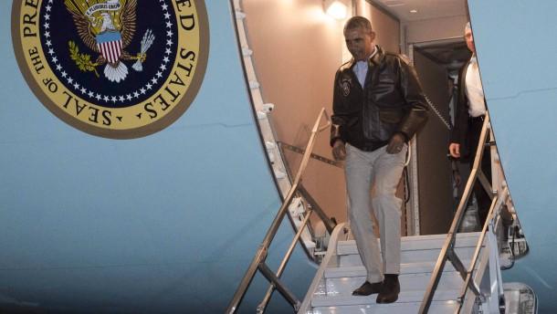 Obama bei den Truppen in Afghanistan