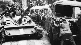 Vor 50 Jahren beendet die sowjetische Armee den Prager Frühling