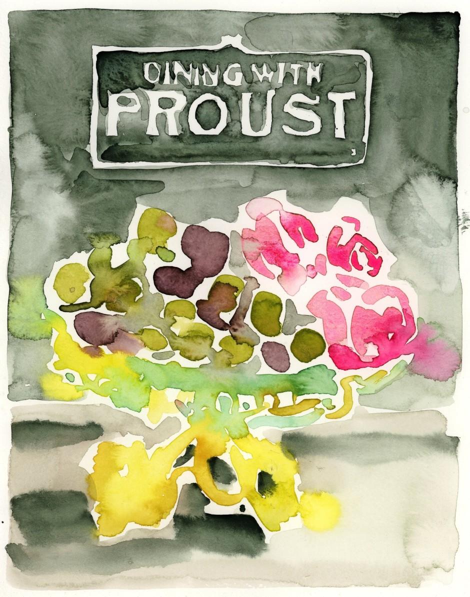 """Das Kochbuch """"Dining with Proust"""" hat die Künstlerin und Autorin Leanne Shapton einmal in einem Antiquariat gesehen, aber nicht gekauft."""