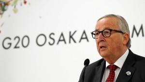 EU droht im Streit um Klimaschutz mit Veto gegen G-20-Erklärung