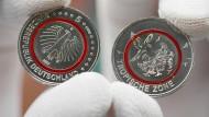 Sammler freuen sich über neue Fünf-Euro-Münze