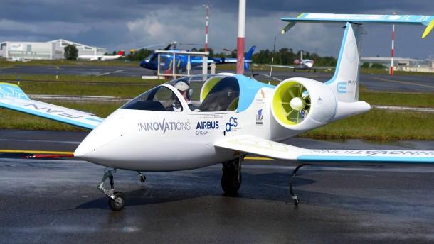Airbus und Siemens basteln gemeinsam am Elektroflieger