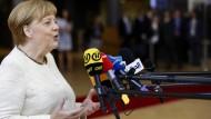 Ist zufrieden mit dem Ausgang des EU-Gipfels: Kanzlerin Angela Merkel.