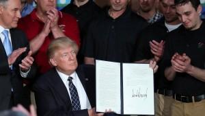 Trump und die Kumpel