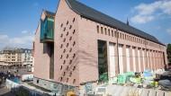 Auf geschichtsträchtigem Grund errichtet: der Neubau des Historischen Museums. Im Herbst nächsten Jahres soll er eröffnet werden.