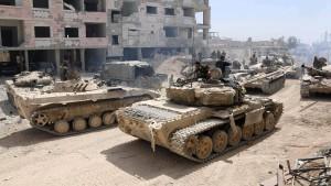 Angeblich 14 Tote bei Angriff auf Flughafen in Syrien