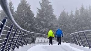 Deutschland stehen erste nennenswerte Schneefälle bevor