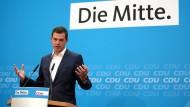 Wollte sich zunächst nicht reinreden lassen: Mike Mohring am Montag in Berlin