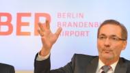 Brandenburgs Ministerpräsident Matthias Platzeck (SPD): Zuspitzung vermeiden, Konflikt entschärfen
