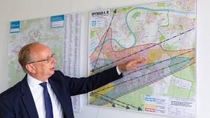 Lärmschutz beschränkt Städtebau in Offenbach