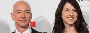 Amazon-Chef Jeff Bezos und seine Ehefrau MacKenzie Bezos in dieser Woche in Berlin