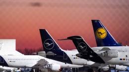Mitarbeiter der Lufthansa in Sorge