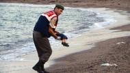 Die traurige Geschichte des Aylan Kurdi