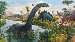 Michelangelo bei den Dinosauriern