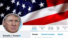 Legte ein Deutscher Trumps Account lahm?