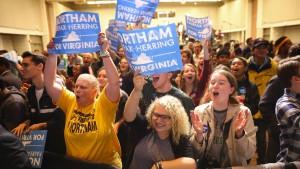 Doppelsieg der Demokraten bei Gouverneurswahlen