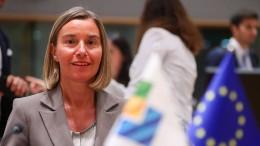 Federica Mogherini: 28.000 Migranten aus Libyen zurückgeführt