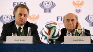 Fifa fordert Uefa in Krimfrage zum Handeln auf