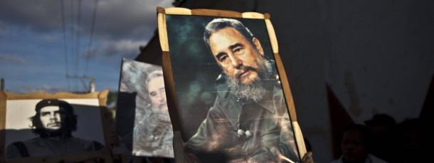In Kuba wird Fidel Castro and Che Guevara bei offiziellen Feiern weiter gehuldigt