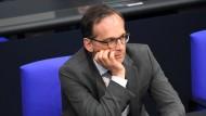 Sorgte bei Fachleuten für Unmut: Bundesjustizminister Heiko Maas.