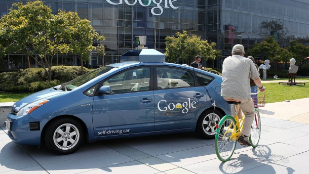 Gov. Brown Signs Legislation At Google HQ That Allows Testing Of Autonomous Vehicles