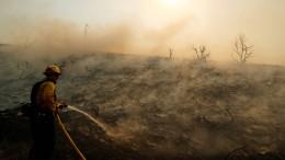 Feuer treibt 60.000 Menschen aus ihren Häusern