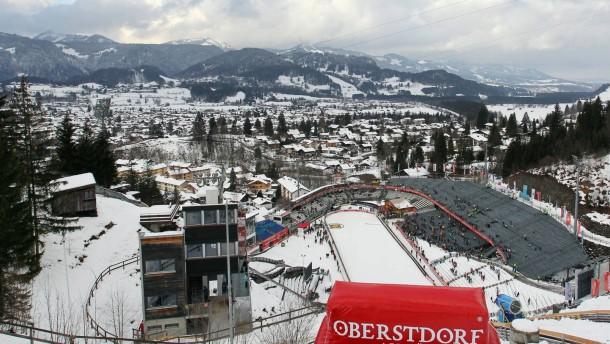 Enttäuschung in Oberstdorf