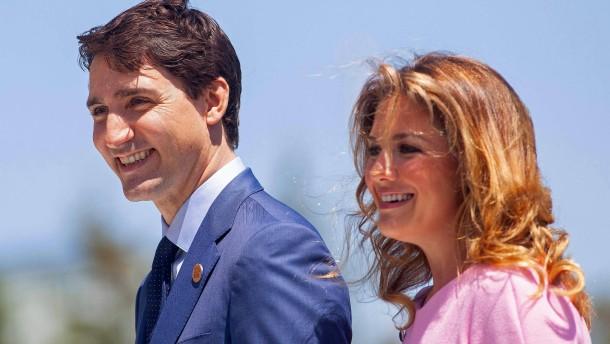 Kanadas Premier Trudeau in Corona-Quarantäne