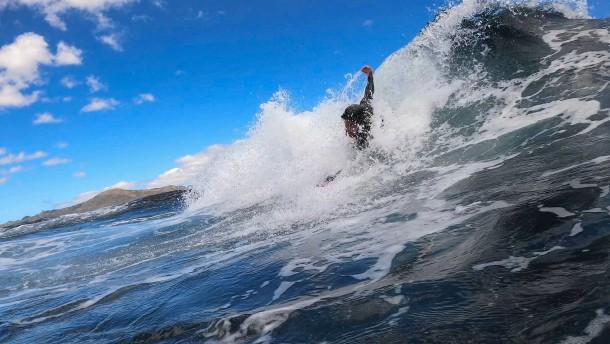 Wellenreiten ohne Surfbrett